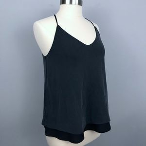 Banana Republic M Double Layer Halter Modal Top